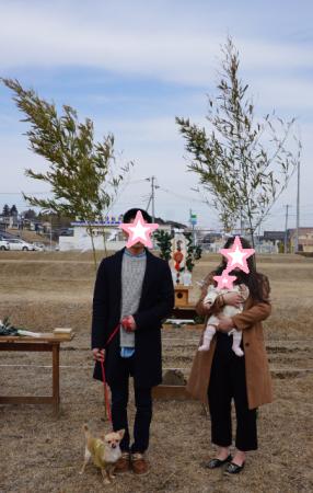 ☆Y様地鎮祭☆