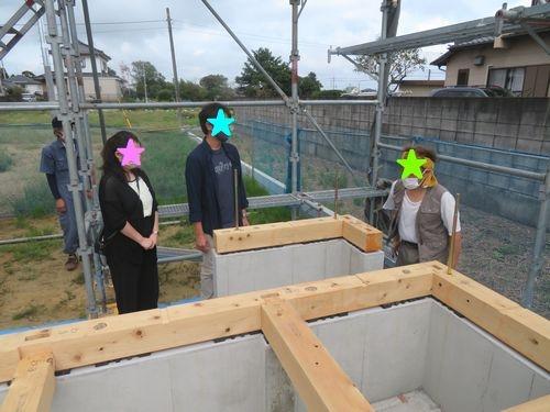 香取市仁井宿区分譲地★初上棟式★ご夫婦の思いが詰まったお家の工事がスタート致します。