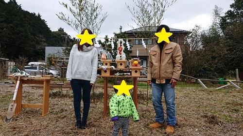 ☆御引渡し☆上棟☆地鎮祭☆クリスマス☆