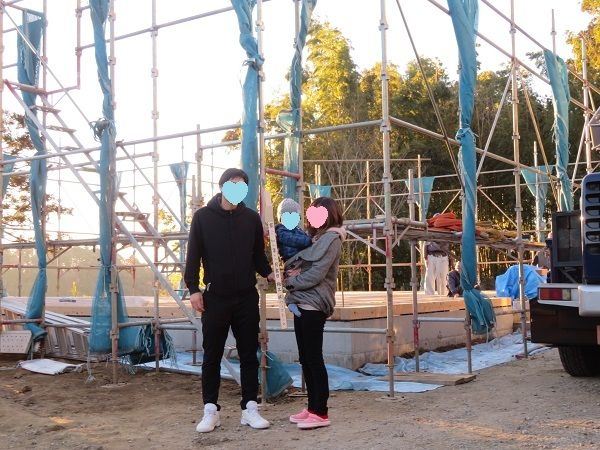 匝瑳市H様邸エレガンテ「THE HIRAYA」上棟です