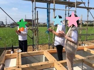 香取市小見川K様邸 ☆夫婦が仲良く暮らせる家☆ ~上棟式当日の流れ~