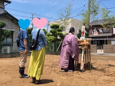 スープの冷めない距離 ~両親を大切にする家~ 香取市F様邸地鎮祭