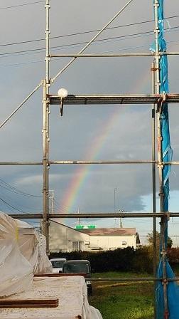 内覧会御礼+虹の上棟式