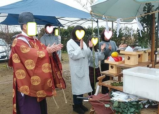 香取市 I様邸地鎮祭