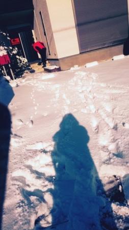 雪だるまを作ろう!&お引渡★