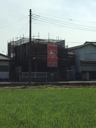 香取市にてリフォーム工事開始!雨漏りを止めるためにまずは屋根から!