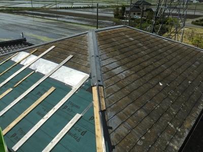 香取市リフォーム工事Ver2☆コロニアル屋根を葺き替えました。